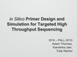 in Silico Primer Design and Simulation for Targeted