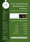 Post-Translational Modifications of Proteins