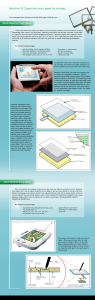 Resistive VS Capacitive touch panel technology