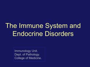 1-The immune system and endocrine disorders 2017)