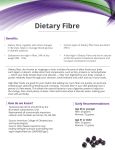 Dietary Fibre - Prairie Berries