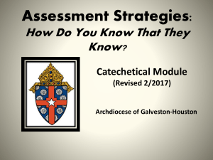 Liturgical Catechesis - Catechetical Resources