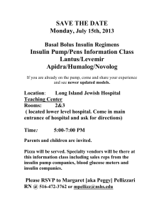 Are you interested in learning about the insulin pump
