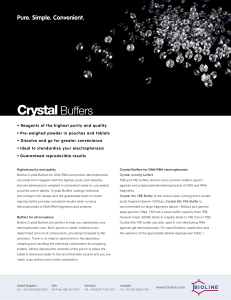 Crystal Buffers