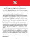 Phillips 66 California Transparency in Supply Chains Act Disclosure