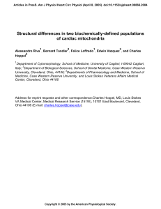 Structural differences in two biochemically-defined