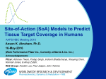 Site-of-Action (SoA) Models to Predict Tissue Target Coverage in