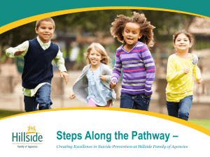 Steps Along the Pathway - New York State Coalition for Children`s