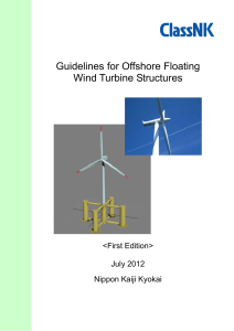 Guidelines for Offshore Floating Wind Turbine Structures