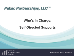 Self-Directed Supports - People First of Missouri