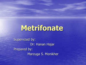 Metrifonate