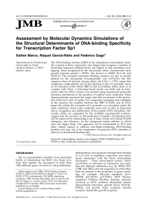 Assessment by Molecular Dynamics Simulations of the Structural