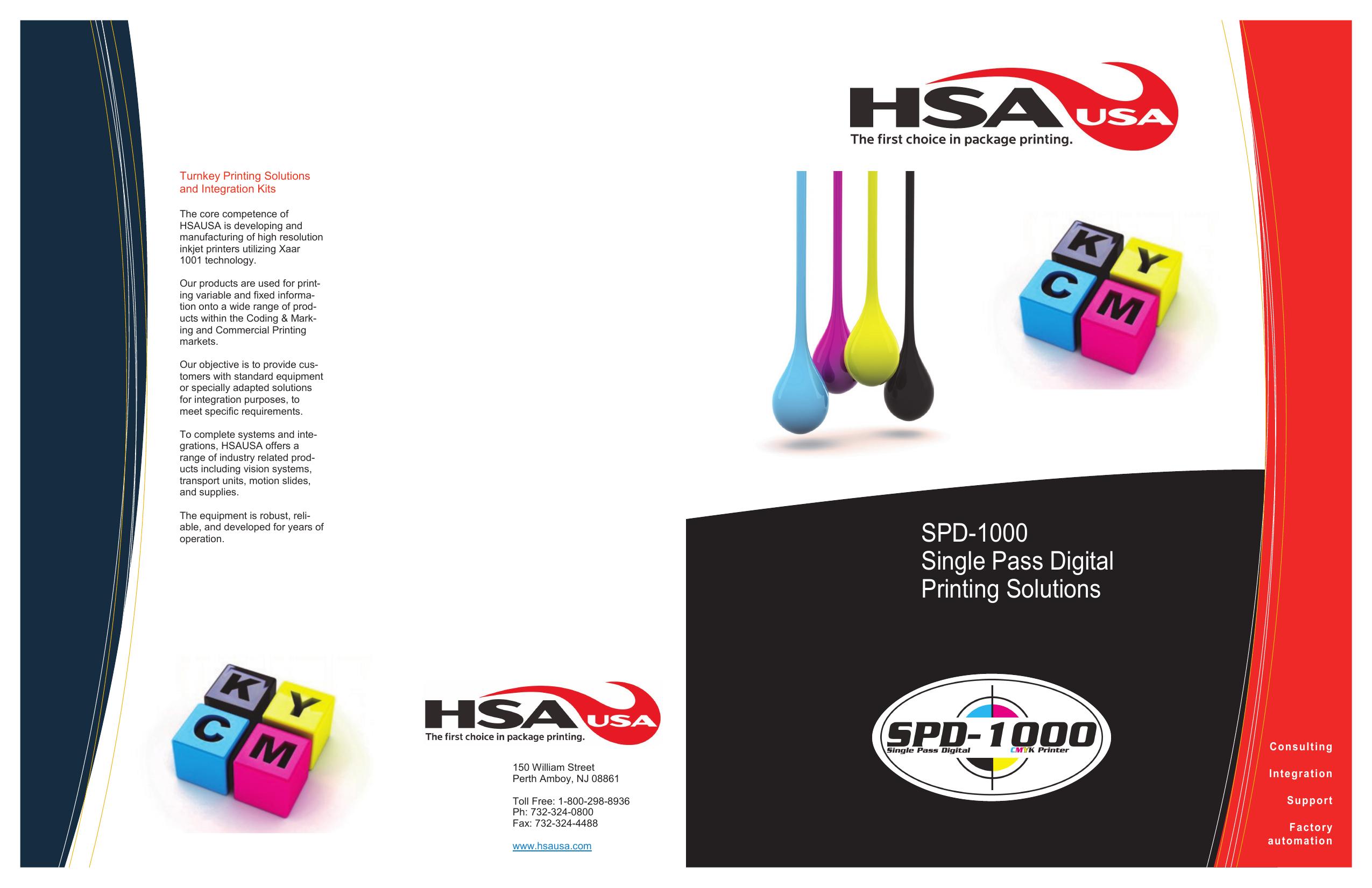 SPD-1000 Single Pass Digital Printing Solutions