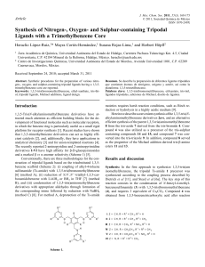 Synthesis of Nitrogen-, Oxygen- and Sulphur