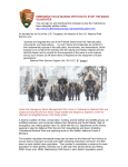 emergency rule making petition to stop the bison slaughter
