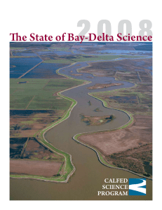 The State of Bay-Delta Science, 2008