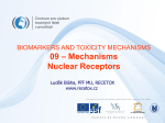 Biomarkers_09b-Mechanisms-NuclearReceptors