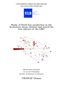 Study of Drell-Yan production in the di-electron channel and