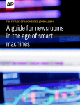 A guide for newsrooms in the age of smart machines