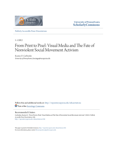From Print to Pixel: Visual Media and The Fate of Nonviolent Social