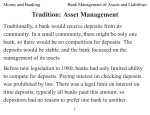 Bank Management of Assets and Liabilities