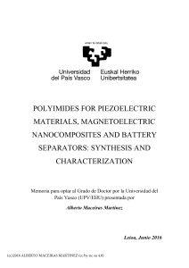 Polyimides for piezoelectric materials, magnetoelectric