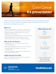 Colon Cancer It`s preventable!