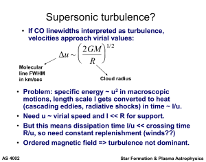 Supersonic turbulence?