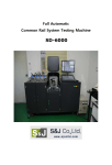 Full Automatic Common Rail System Testing Machine SD