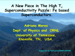 A New Piece in The High T c Superconductivity Puzzle: Fe