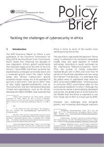 Tackling the challenges of cybersecurity in Africa