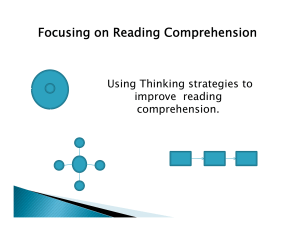 Focusing on Reading Comprehension