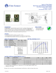 Name of Pacific Silicon Sensor Data Sheet