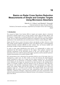 Basics on Radar Cross Section Reduction Measurements of Simple