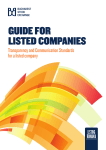 Guide for listed companies