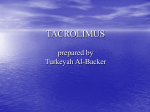 TACROLIMUS prepared by Turkeyah Al