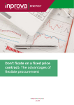 Don`t fixate on a fixed price contract: The advantages of flexible