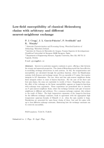 Low-field susceptibility of classical Heisenberg chains with arbitrary