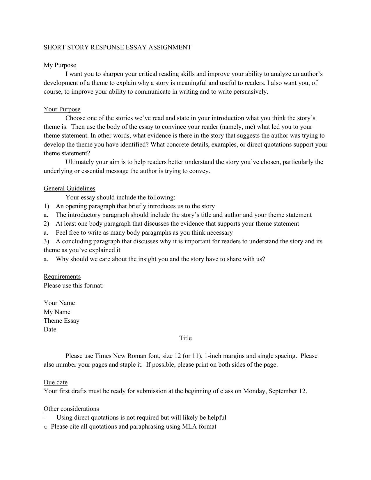 response essays short stories to closing paragraph business letter 022990809 1 a0cee6add6acc5a2f110485854082cd6 response essays short stories - Critical Response Essay Format