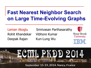 Fast Nearest Neighbor Search on Large Time