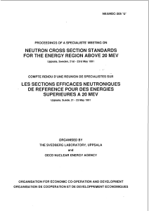 Neutron Cross Section Standards for the Energy Region Above 20