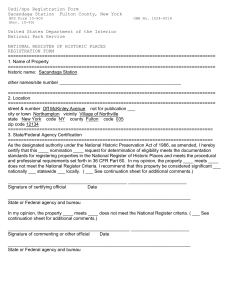 national register forms template