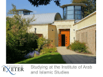 Institute of Arab and Islamic Studies