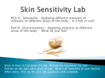 Skin Sensitivity Lab