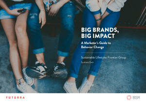 big brands, big impact - Business for Social Responsibility