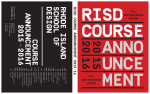 rhode islandschool of design courseannouncement 2015