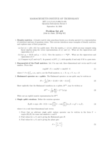 Problem Set 2 - Massachusetts Institute of Technology