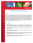 High-Throughput Proteomics Pipeline