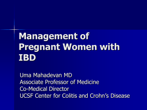 IBD and Pregnancy: Overlapping Pathways