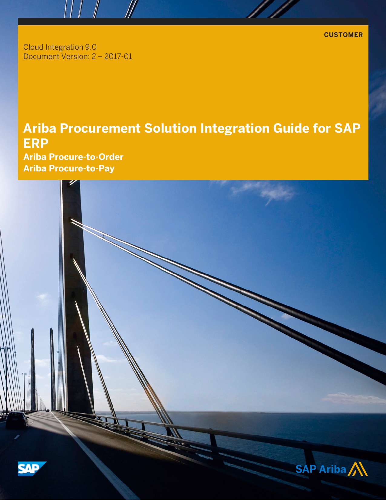 Ariba Procurement Solution Integration Guide for SAP ERP
